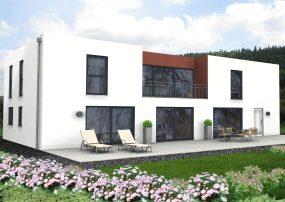Zweifamilienhaus in moderner Architektur