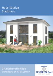 Katalog von Stadthäusern, z.B. im toskanischen Stil oder als Kubushaus